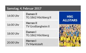 Neunter Heimspieltag – HSG Allstars