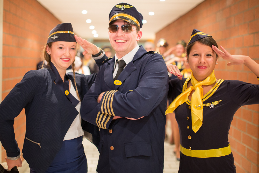 HSG Airline � Unsere Crew stellt sich vor!