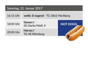Siebter Heimspieltag – Hot Dogs