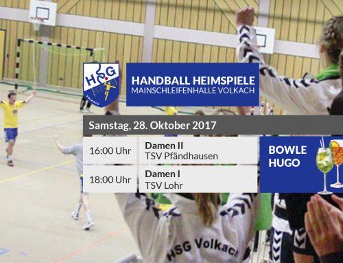 Sechster HSG-Heimspieltag – Bowle & Hugo