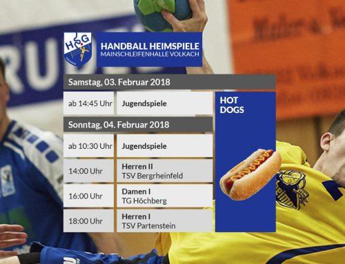 Zehnter HSG-Heimspieltag – Hot Dogs