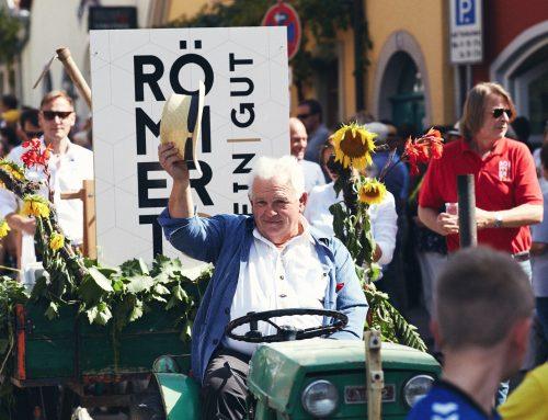 Helmut Liebenstein, Heiner Brand und das Volkacher Weinfest