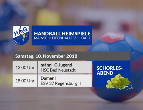 Fünfter Heimspieltag – Schorlesabend – 10.11.2018