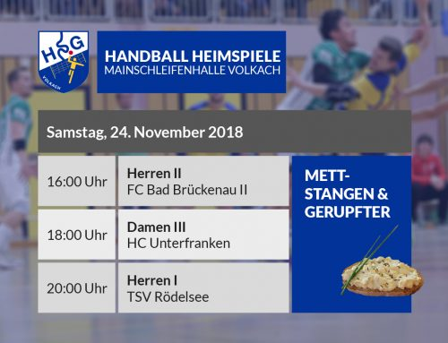 Sechster HSG-Heimspieltag – Mettstangen und Gerupfter – 24.11.2018