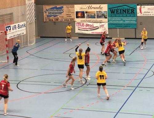 1. FC Bad Brückenau – Damen I 13:29 (6:15)